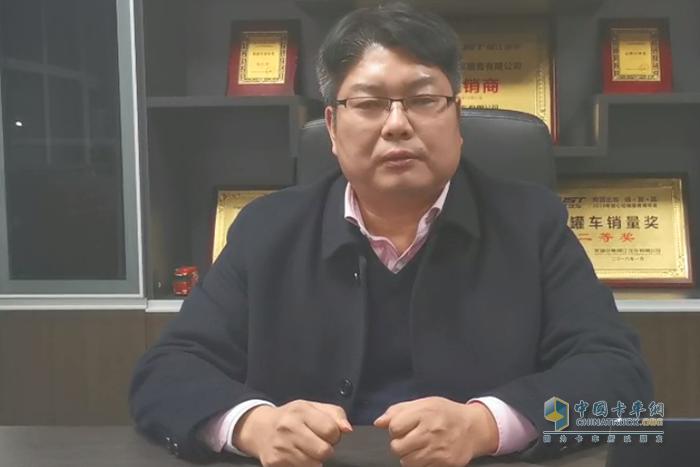 杭州集瑞汽车贸易有限公司总经理马勇