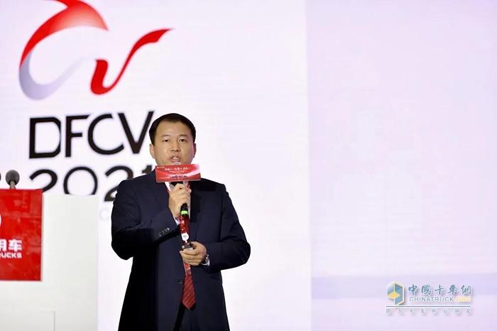 东风商用车后市场销售部副部长李国辅发布《2021年后市场商品》