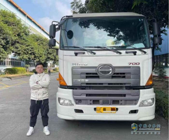 陈生认为广汽日野 700重卡整车三大件过硬