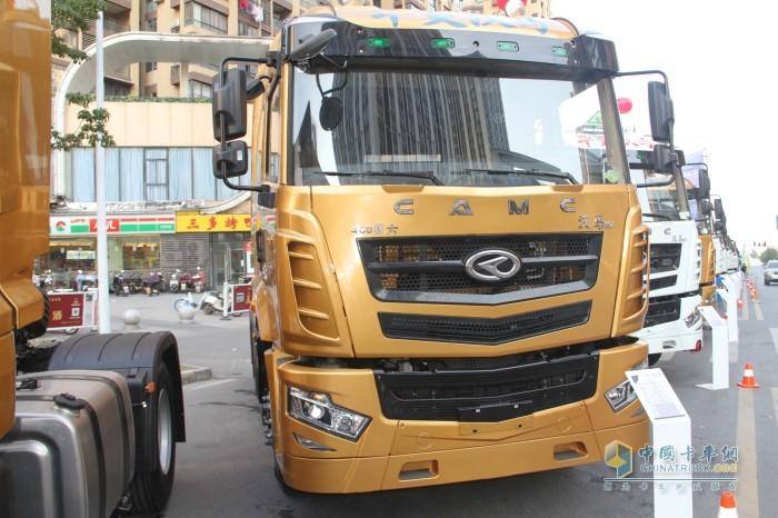 汉马H7 460马力牵引车