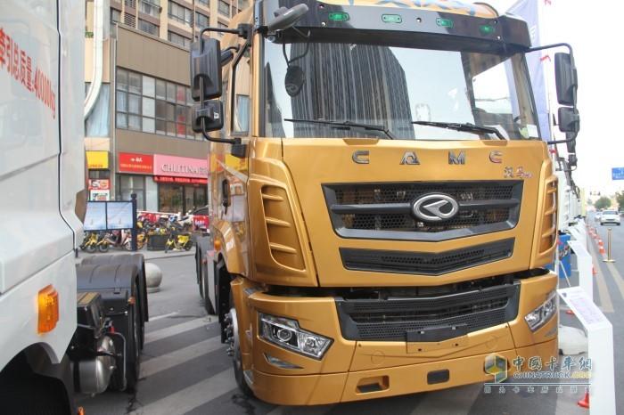 汉马H7纯电动牵引运输车充电版