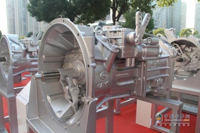 汉马T7系列变速箱