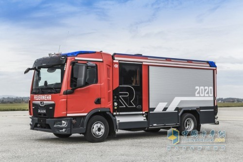 曼恩TGL 12.250 4x2 BB小型救援车
