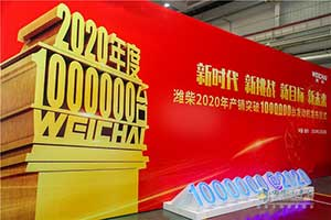 见证潍柴速度 2020年发动机产销突破100万台!
