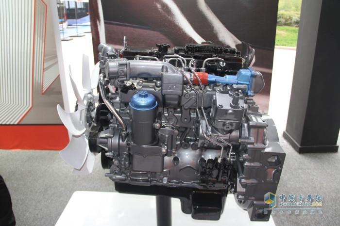 220马力潍柴WP4.6N发动机