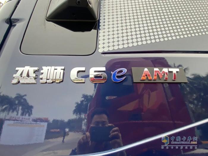 LNG牵引车也配上了AMT变速箱