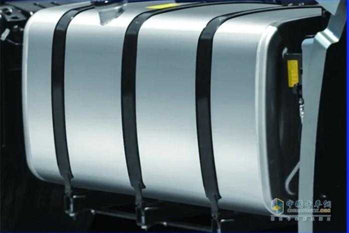 单/双油箱超大容量设计,双油箱总容量1000L