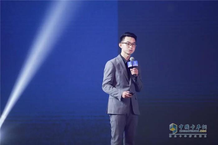 龙蟠科技数字化项目邓经理发表演讲