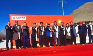 27台东风天龙助力尼木县藏胞开启致富路