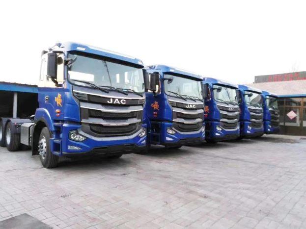 半年购入40辆,江淮格尔发牵引车助力山东冠图运输进攻山东市场