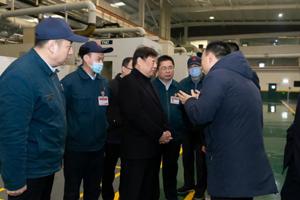 谭旭光:杭发公司要为全行业提供高水平配套柴油机
