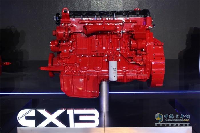 福田康明斯 X13 发动机 发现信赖