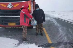 冰雪奇援,乘龙冬日暖心救援行动,7x24小时待命