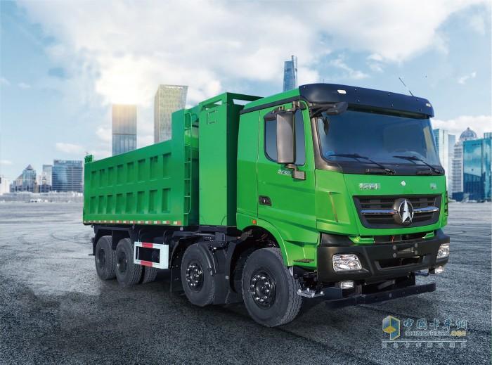 北奔重卡 北奔31吨电动自卸车 第六届发现信赖产品奖