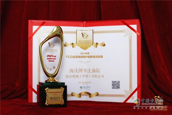 海沃 阿尔法液压油缸 第六届发现信赖产品奖