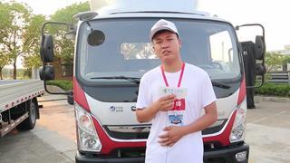 上海展邦物流:为何一直信赖奥铃车?