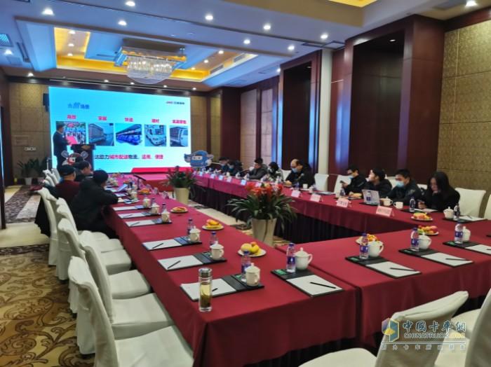 江淮恺达轿卡东南区域媒体沟通会在杭州召开