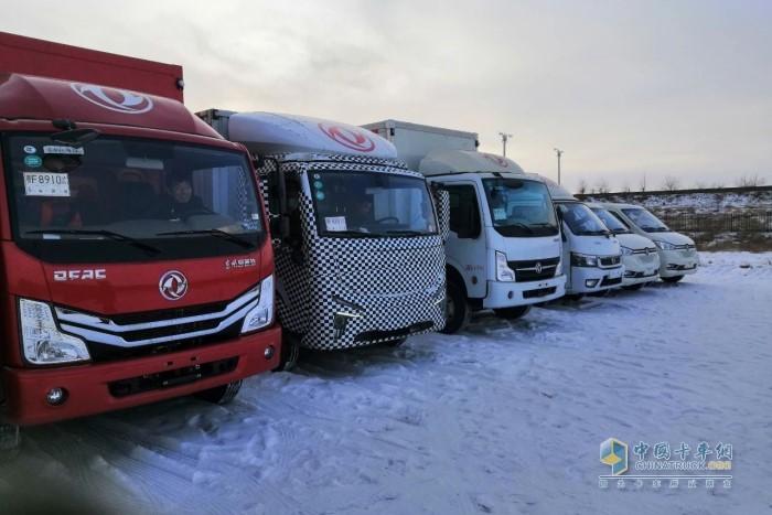 东风汽车股份研发团队在极寒地区开展严苛试验