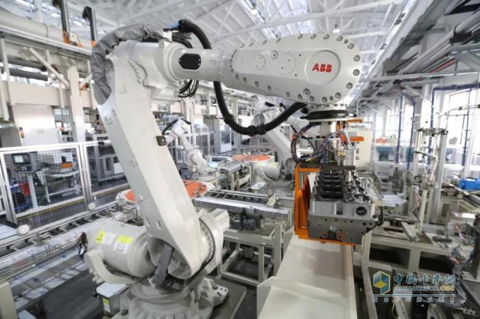 玉柴 发动机 国六智能化生产线
