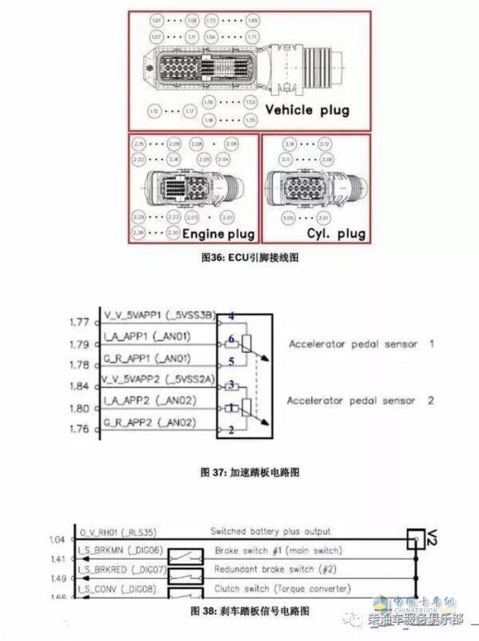 加速踏板 卡车维修 卡车零部件