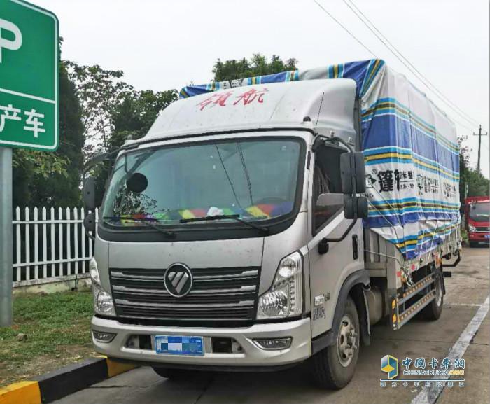 福康发动机为杨师傅的绿通运输护航