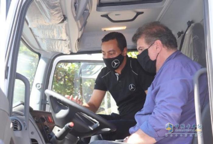 艾里逊变速箱 梅赛德斯-奔驰卡车 环卫车