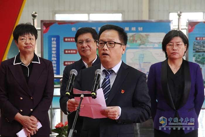 北奔重汽党委书记、董事长范志平