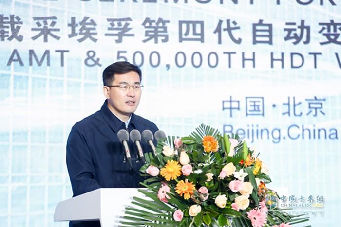 北京市怀柔区委常委、副区长郭文杰