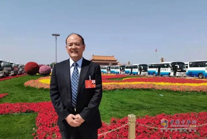 全国人大代表、江汽集团高级工程师 周福庚