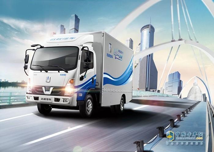 吉利远程E200纯电动厢式运输车