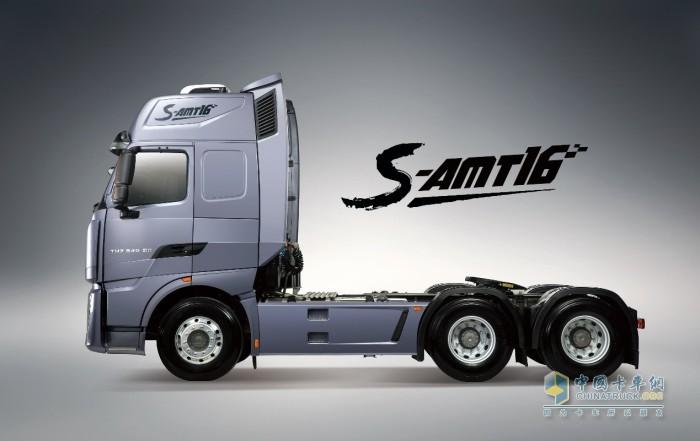 中国重汽 零部件 S-AMT16挡变速箱