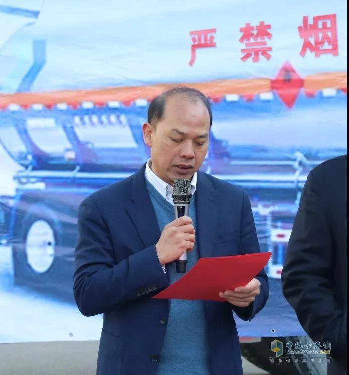 汉马科技集团副总经理葛晓生