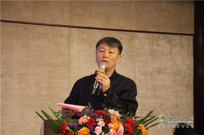开沃集团专用车事业部副董事长、四川开沃汽车有限公司总经理邢宇辉