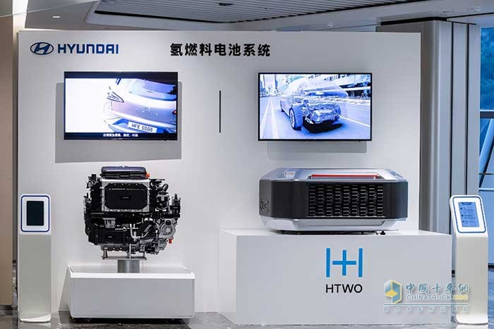 现代汽车氢燃料电池系统