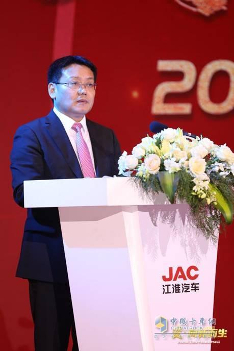 江淮汽车集团股份公司副总经济师、轻型商用车营销公司党委书记、总经理 张先华