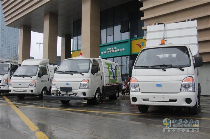 开沃新能源专用车产品