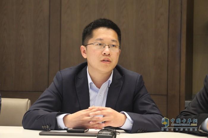 开沃集团卡车事业部营销中心总经理郭青海