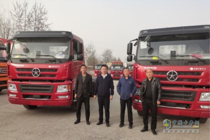大运忠实大客户黎城韩总派公司司机来大运购买车
