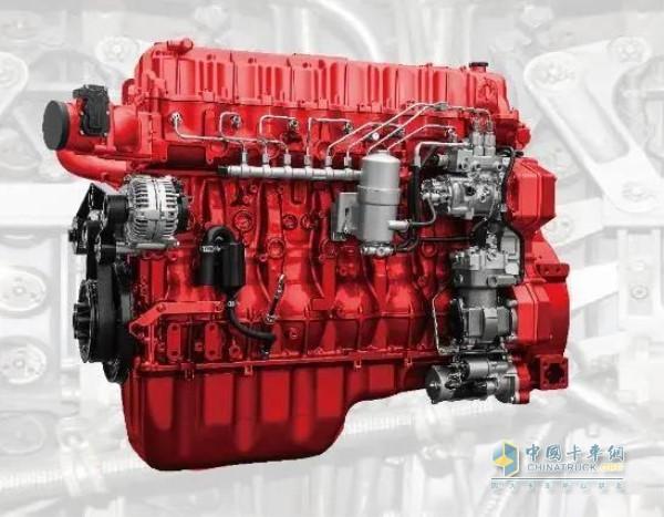 联合卡车国六燃油车使用EGR+DOC+DPF+SCR+ASC排放技术路线