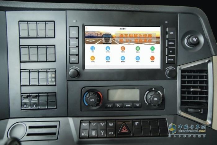 联合卡车国六车型使用联合通G7通过智能管车系统