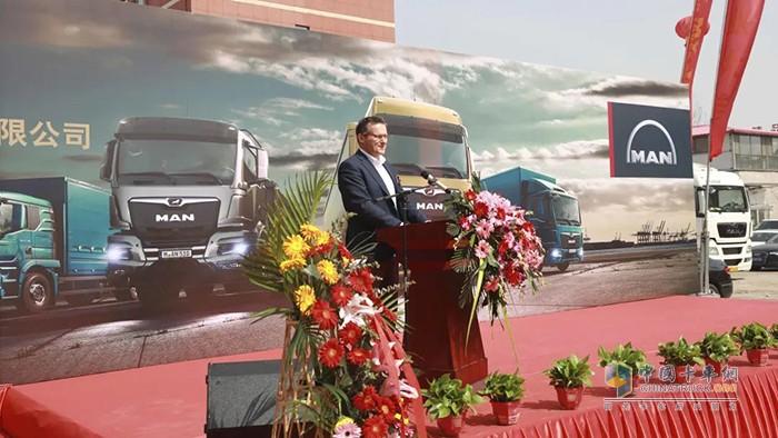 曼恩商用车授权经销商天津曼安行汽车销售服务有限公司盛大开业