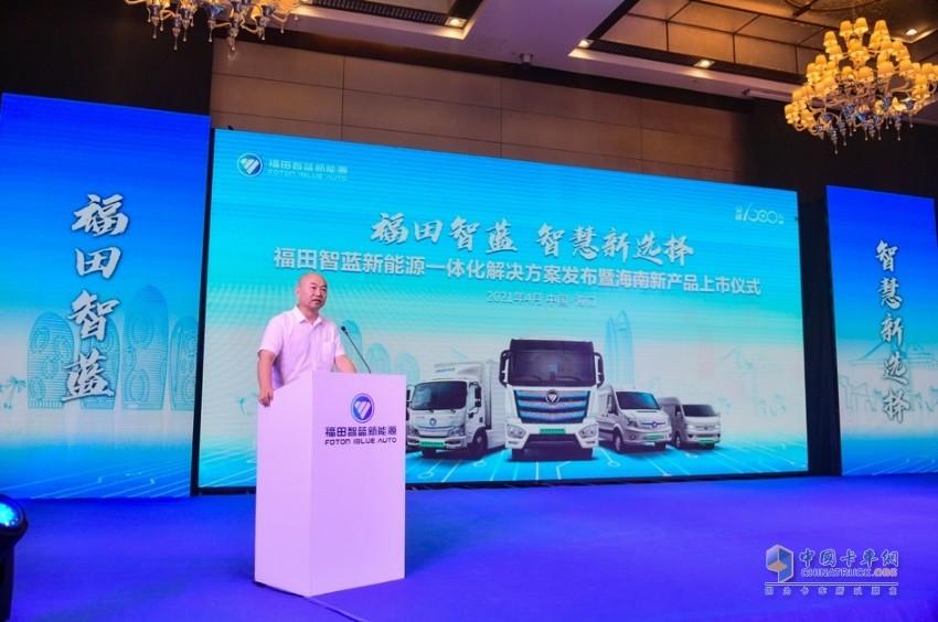 海南省新能源汽车促进中心主任 钟东