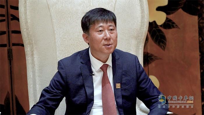 一汽解放销售公司副总经理、西部营销部部长李玉峰接受卡车网采访