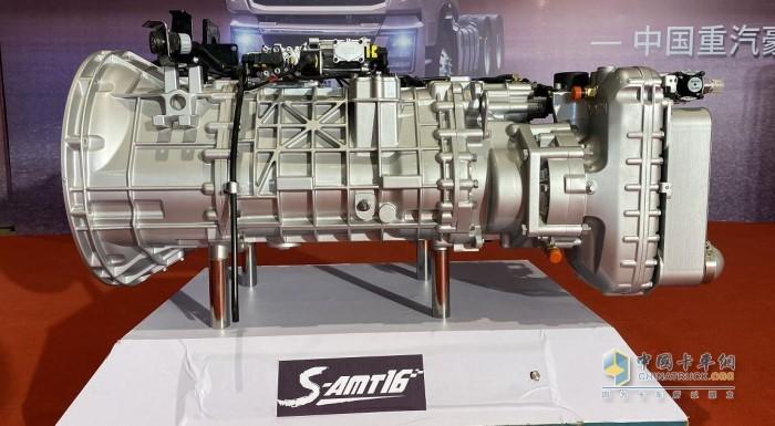 S-AMT16档变速箱
