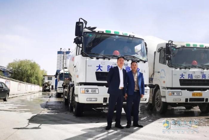 杭清平创立了甘肃大陆商砼混凝土有限公司