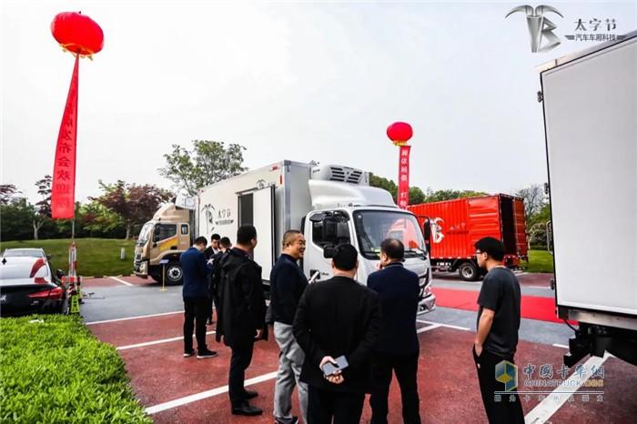 中集车辆  箱式化  太子节