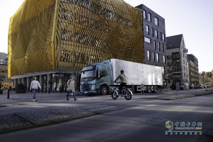 新款沃尔沃卡车电动车型