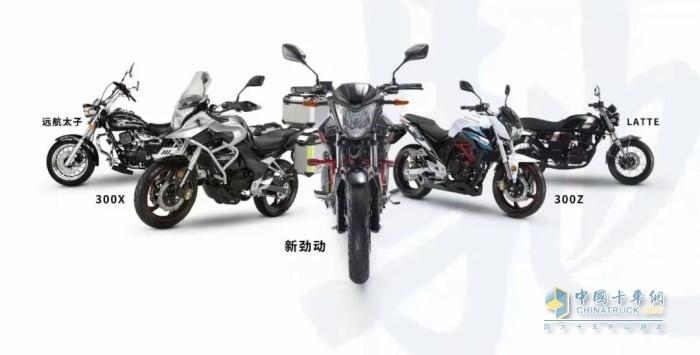 大运集团年产摩托车
