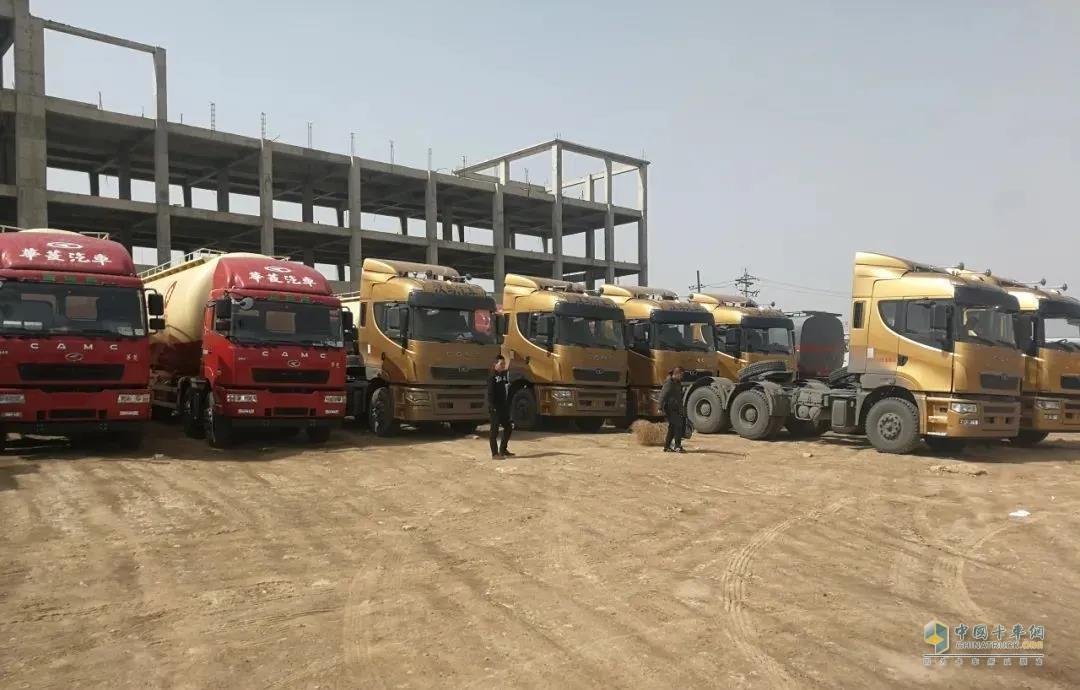 永登金疆实业有限公司是甘肃最大的散装水泥运输企业之一