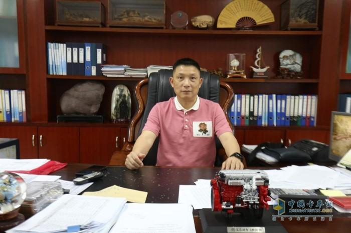 广东清远合展混凝土有限公司总经理杨明星